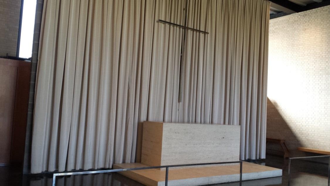 Miles van der Rohe IIT Chicago Open House - Carr Memorial Chapel